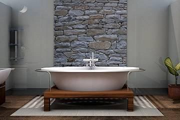 acabados de construcción baño