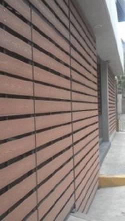 deck wpc en paredes